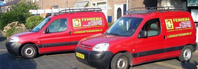 Nieuwe website voor Loodgietersbedrijf Fennema